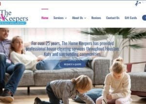 Wordpress Website Design for House Cleaning Companies