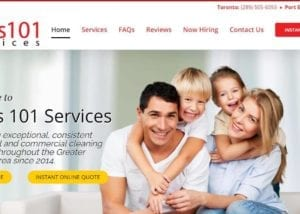 Mel's 101 Services   Wordpress Website Design for Cleaning Businesses